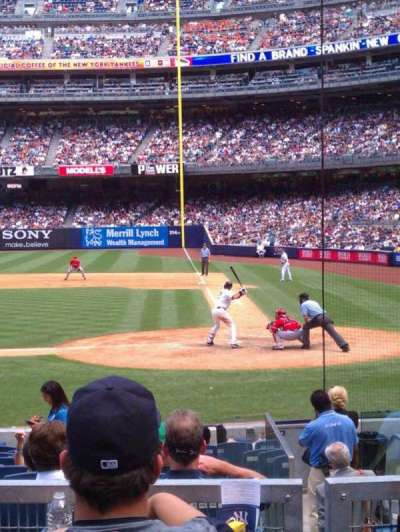 Yankee Stadium sección 122