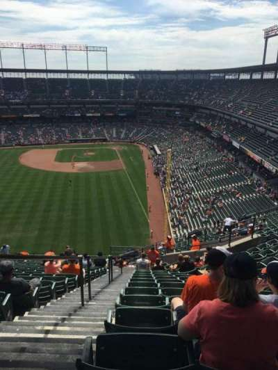 Oriole Park at Camden Yards, sección: 381, fila: 22, asiento: 19