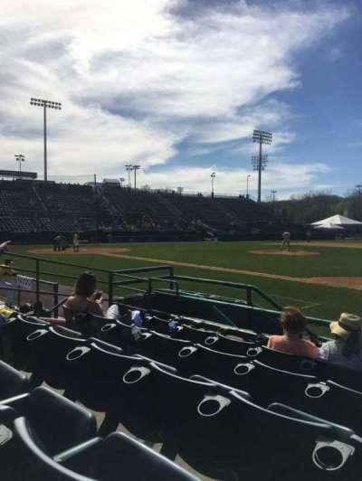 New Britain Stadium, sección: 103, fila: E, asiento: 13