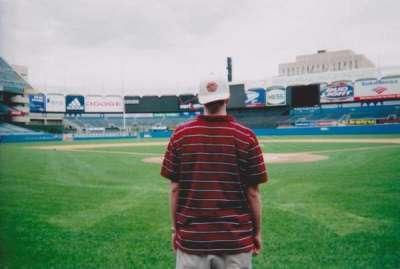 Old Yankee Stadium, sección: Behind Home Plate