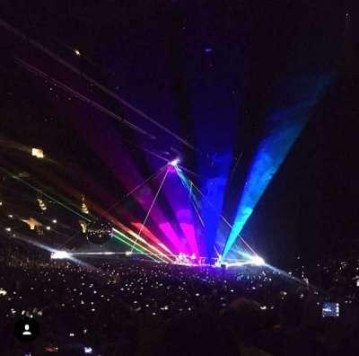 Staples Center, sección: 104, fila: 15, asiento: 11