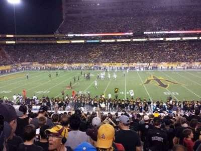 Sun Devil Stadium, sección: 31, fila: 31, asiento: 1