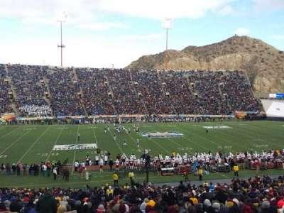 Sun Bowl Stadium, sección: 6, fila: 41, asiento: 31