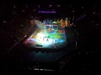 Honda Center, sección: 444, fila: F, asiento: 1