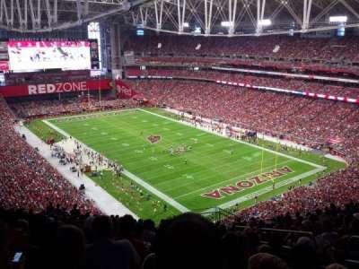 University of Phoenix Stadium, sección: 434, fila: 16, asiento: 1