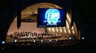 Hollywood Bowl, sección: K1, fila: 15, asiento: 2