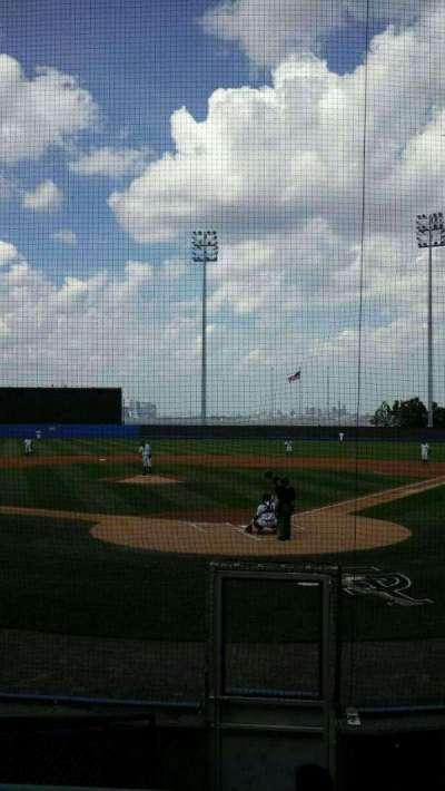 Richmond County Bank Ballpark, sección: 9, fila: H, asiento: 7