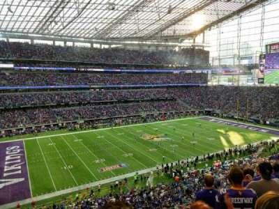 U.S. Bank Stadium, sección: 215, fila: 6, asiento: 13