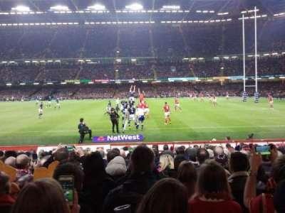 Principality Stadium, sección: L28, fila: 15, asiento: 14