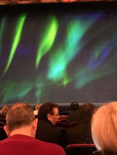 St. James Theatre, sección: ORCHC, fila: F, asiento: 109