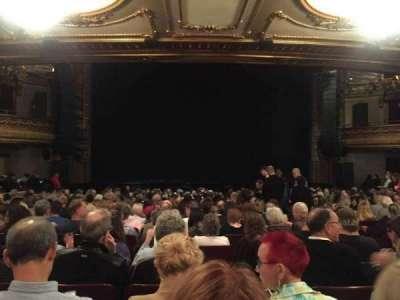 Palace Theatre (Broadway), sección: ORCH, fila: U, asiento: 109