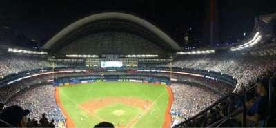 Rogers Centre, sección: 524BL, fila: 108, asiento: 102
