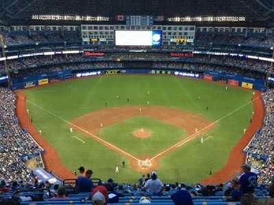 Rogers Centre, sección: 524BR, fila: 20, asiento: 5