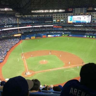 Rogers Centre, sección: 521L, fila: 16, asiento: 105