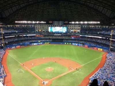 Rogers Centre, sección: 524, fila: 22, asiento: 10