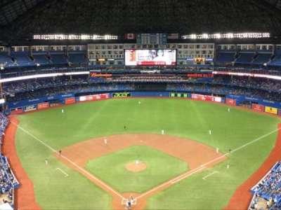 Rogers Centre, sección: 524, fila: 21, asiento: 1