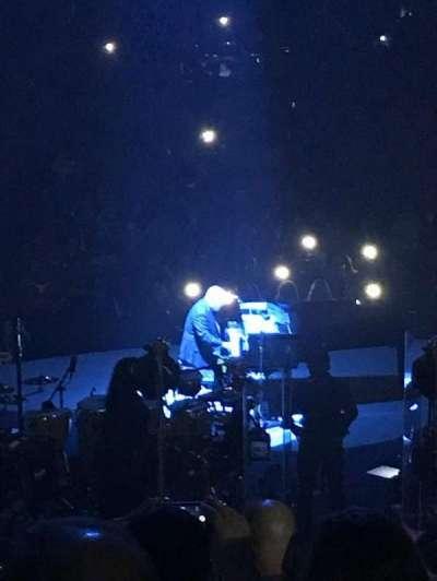 Madison Square Garden, sección: 112, fila: 16, asiento: 8