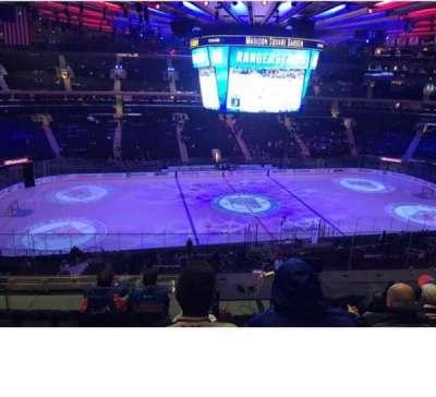 Madison Square Garden, sección: 223, fila: 7, asiento: 7