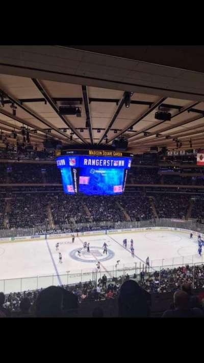 Madison Square Garden, sección: 223, fila: 7, asiento: 8