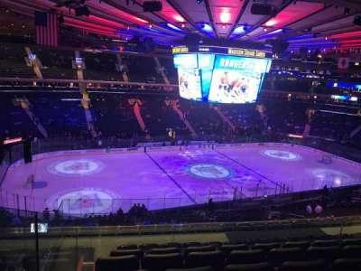Madison Square Garden, sección: 222, fila: 9, asiento: 6