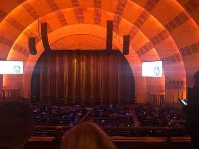 Radio City Music Hall, sección: 1st Mezzanine 3, fila: C, asiento: 302