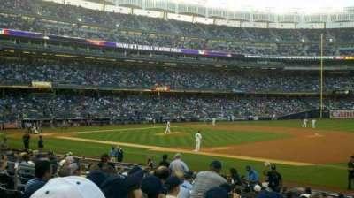 Yankee Stadium sección 114A