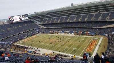 Soldier Field, sección: 431, fila: 30, asiento: 11