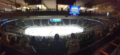 Madison Square Garden, sección: 210, fila: 20, asiento: 13