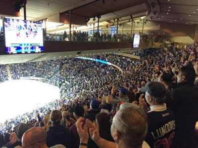 Madison Square Garden, sección: 210, fila: 20, asiento: 14