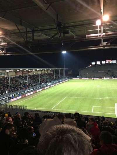Stade Jean Bouin, sección: Coubertin D, fila: AE, asiento: 108