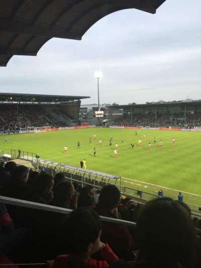 Stade Jean Bouin, sección: Jean Bouin Laterale, fila: S, asiento: 1
