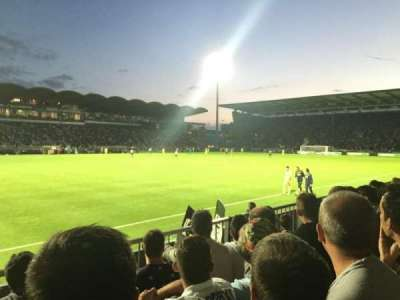 Stade Jean Bouin, sección: St Leonard Laterale, fila: D, asiento: 188