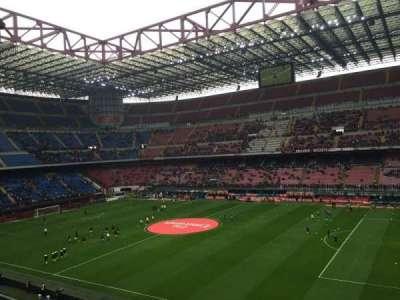 Stadio Giuseppe Meazza, sección: Arancia, fila: 261, asiento: 7-28
