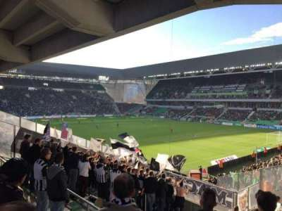 Stade Geoffroy-Guichard, sección: Tribune H.Point, fila: V30