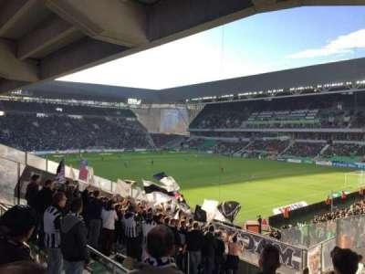 Stade Geoffroy-Guichard, sección: Tribune H.Point, fila: V30