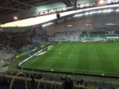 Stade de la Beaujoire, sección: Oceane Haut, fila: Q, asiento: 168