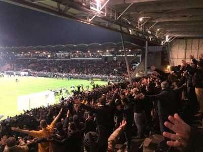 Stade Jean Bouin, sección: Coubertin F, fila: Y, asiento: 144A