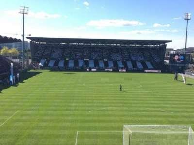 Stade Jean Bouin, sección: Colombier, fila: Haute