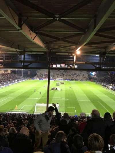 Stade Jean Bouin, sección: Coubertin C, fila: AL, asiento: 132