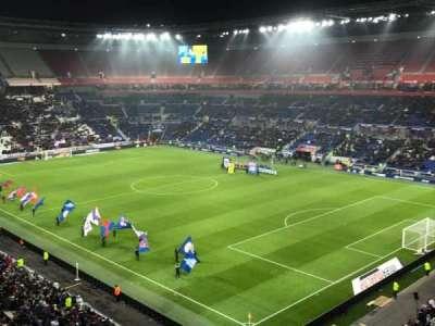 Parc Olympique Lyonnais, sección: 401, fila: 2, asiento: 1