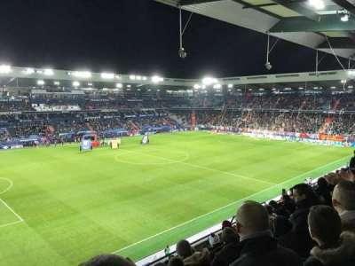 Stade Michel D'Ornano, sección: J9, fila: X, asiento: 220