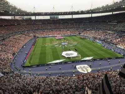 Stade de France, sección: Nord Haute, fila: L15, asiento: 67-1