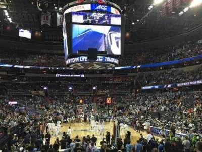Capital One Arena, sección: 105, fila: L, asiento: 1