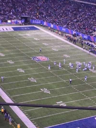 MetLife Stadium, sección: 305, fila: 7