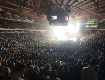 Madison Square Garden, sección: 103, fila: 20, asiento: 20