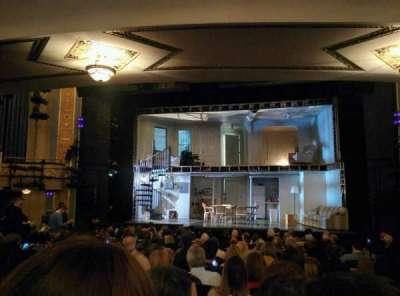 Gerald Schoenfeld Theatre, sección: ORCHC, fila: Q, asiento: 112