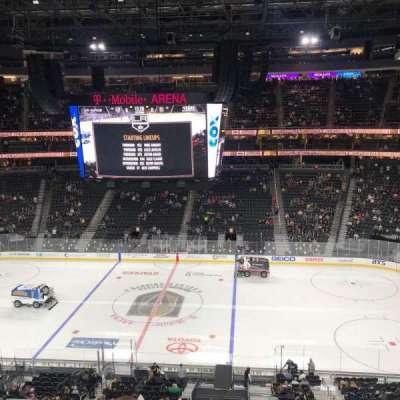T-Mobile Arena, sección: 207