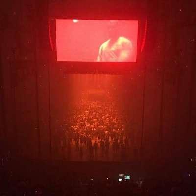 T-Mobile Arena, sección: 101, fila: A, asiento: 8