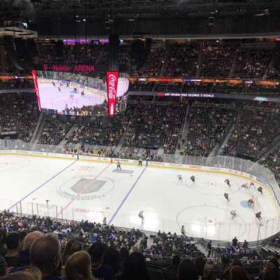 T-Mobile Arena, sección: 225, fila: H, asiento: 10