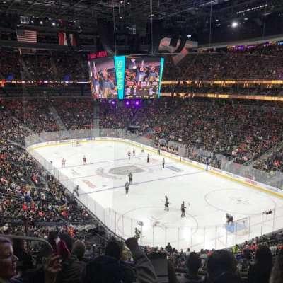 T-Mobile Arena, sección: 118, fila: F, asiento: 7